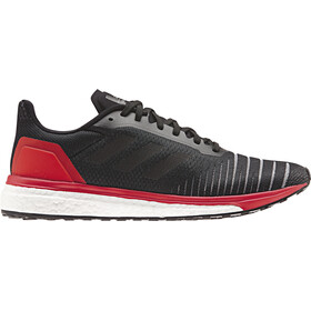 adidas SolarDrive Running Shoes Men Core Black/Core Black/Hi-Res Red
